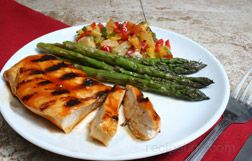 barbecued chicken Article
