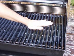 If You Are Unable To See That The Burner Has Lit, You Can Hold The Palm Of  Your Hand Over The Grill Grate In Order To Feel The Heat Rising From The ...