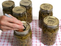 Canning Safety Storage and Tips