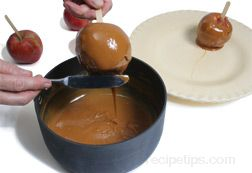 how to make caramel apples Article
