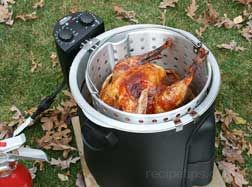 how to deep-fry a whole turkey Article
