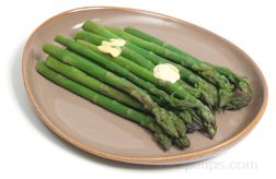 steamed asparagus Article