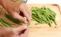 Saut#233ed Green Beans Article