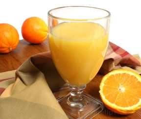 fresh squeezed orange juice Article