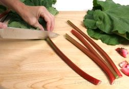 Rhubarb Preparation