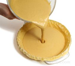 making homemade pumpkin pie Article