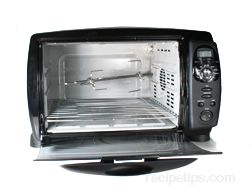 This Convection Oven Consists Of Temperature Controls A Timer Drip Pan And Rotisserie Unit The Heat Source Is At Top En