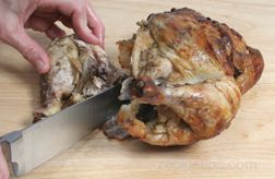 carving chicken Article