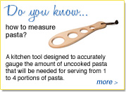 Do you know how to measure pasta?