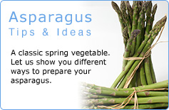 Asparagus Tips & Ideas