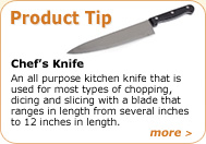 Product Tip - Chef's Knife