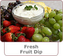 Fresh Fruit Dip