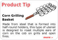 Product Tip - Corn Grilling Basket