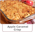 Apple Caramel Crisp Recipe
