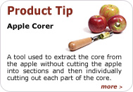 Product Tip - Apple Corer