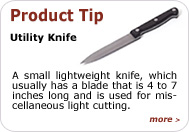 Product Tip - Utility Knife