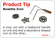 Product Tip - Rosette Iron