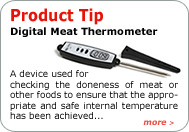 Product Tip - Meat Or Cooking Thermometer