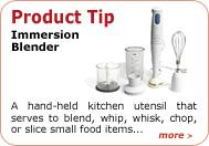 Product Tip - Immersion Blender