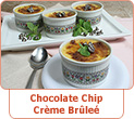 Chocolate Chip Creme Brulee Recipe