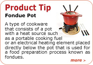 Product Tip - Findue Pot