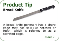 Product Tip - Bread Knife