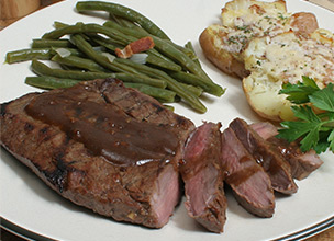 Grilled Marinated Sirloin Steak Recipe