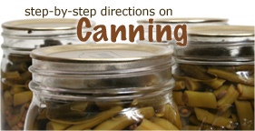 Step-by-Step Directions on Canning