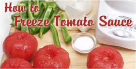 How to Freeze Tomato Sauce