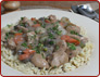 Chicken Bourguignon Potatoes