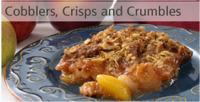 Cobblers, Crisps, Crumbles, and more