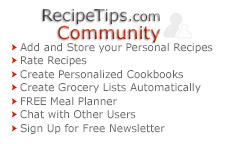 RecipeTips.com Community