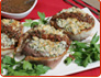 Blue Cheese Crusted Steaks With Red Wine Sauce Recipe