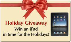 Holiday Promotion: Win an iPad