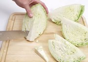How to Cut and Core Cabbage