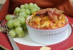 Cheddar Bacon Egg Bake