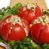 Spicy Corn Stuffed Tomatoes Recipe