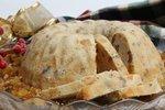 Golden Brandied Fruitcake