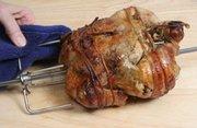 Rotisserie Grilling Chicken