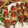 Shrimp and Andouville Kabobs Recipe