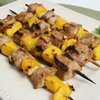 Pork and Mango Kabobs