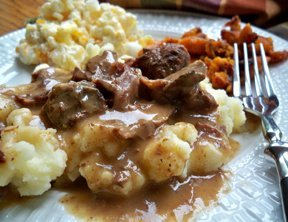 Slow Cooker Beef & Gravy