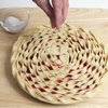 Decorative Pie Crust Topping