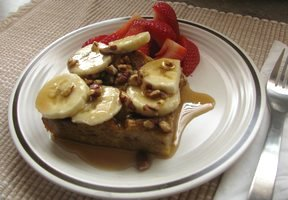 Banana Foster French Toast Casserole