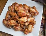 Maple Glazed Chili Chicken Wings