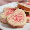 Valentine's Ice Cream Cookies