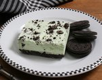 Mint Oreo Ice Cream Dessert