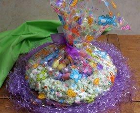 Easter Popcorn Nests