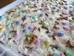 Easter Pretzel Bark