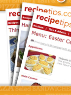 RecipeTips.Com Newsletters Article